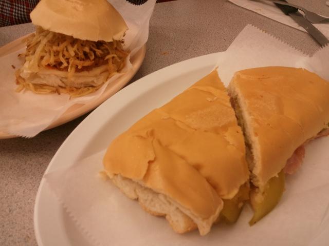 Frita and the Cubano.